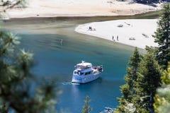 Touring Lake Tahoe Stock Image