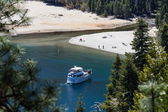 Touring Lake Tahoe Royalty Free Stock Images