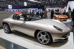 Touring Milano Alfa Romeo Disco Volante sports car Royalty Free Stock Photos