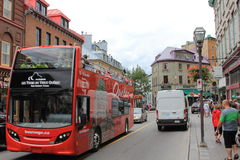 TOURING OLD QUEBEC Stock Photography