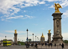 Touring Paris Royalty Free Stock Photos