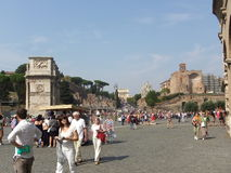 Touring Rome Stock Photos