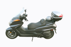 Touring Scooter. A 400cc scooter designed for the highway Royalty Free Stock Photo