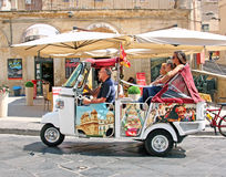 Touring Sicily Stock Photography