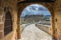 Touring the province of Burgos, spain! stock photo