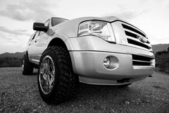 Touring Vehicle Royalty Free Stock Photography