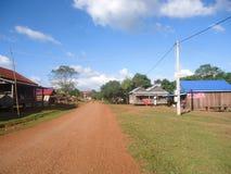touris的柬埔寨非常蒙多基里省兴趣 免版税图库摄影
