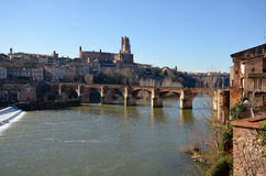 Tourism in Albi. In France Stock Photography