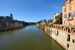 Tourism in Albi. In France Stock Images