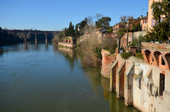 Tourism in Albi. In France Royalty Free Stock Photography