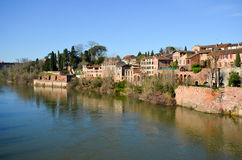 Tourism in Albi. In France Royalty Free Stock Photo