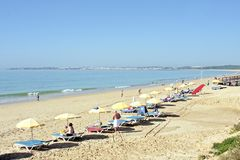 Tourism in the Algarve in Portugal Stock Photography