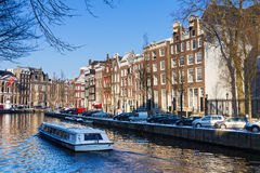 Tourism Amsterdam Royalty Free Stock Images