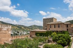 Tourism in andalusia stock images