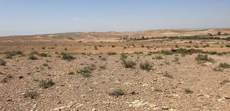 Areas of tourism are normal. Tourism areas in nature, in the areas of the city of Marrakech, you find this nature with its semi-desert environment, you may find royalty free stock image