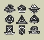 Tourism badges Stock Photography