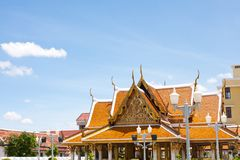 Tourism in bangkok Stock Photography