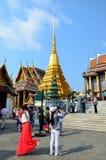 Tourism in  Bangkok Royalty Free Stock Photography