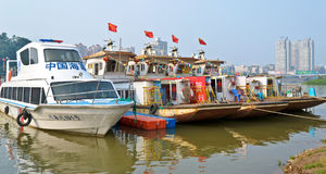 Tourism boat Stock Image