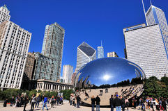Tourism in Chicago, Illinois, USA Royalty Free Stock Photo