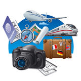 Tourism concept icon Royalty Free Stock Images