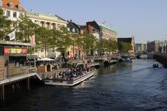 TOURISM IN COPENHAGEN Royalty Free Stock Photos