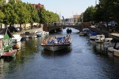 TOURISM IN COPENHAGEN Royalty Free Stock Photo