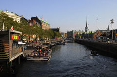 TOURISM IN COPENHAGEN Stock Image
