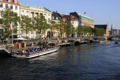 TOURISM IN COPENHAGEN Stock Photos