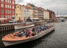 Tourism in Copenhagen Stock Photo