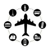 Tourism design Royalty Free Stock Image