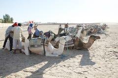 Tourism in Douz Stock Photo