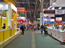 Tourism Fair in Brno. Tourism expo called Go and Regiontour 2015 in BVV Brno royalty free stock photo