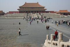 Tourism at Forbidden City Stock Photo
