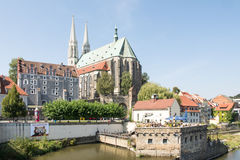 Tourism in Goerlitz Royalty Free Stock Photo
