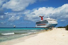 Tourism in Grand Turk Stock Images