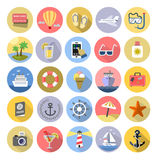 Tourism icons se Royalty Free Stock Image