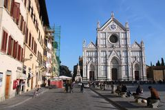 Tourism in Italy Stock Image