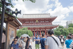 Tourism of Japan in Tokyo Stock Photography