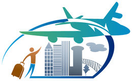 Tourism logo Stock Images