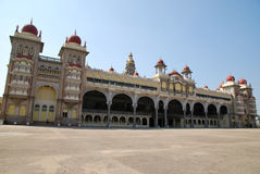 Tourism in Mysore Palace royalty free stock photos