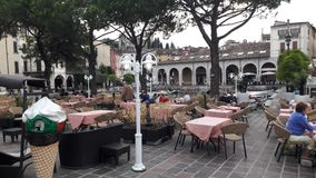 Tourism in North Italy. Lovely place in Italy beach Royalty Free Stock Photos