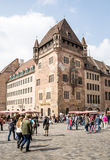 Tourism in Nuremberg Stock Photography