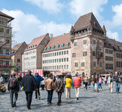 Tourism in Nuremberg Royalty Free Stock Photos