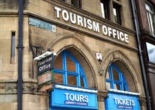 Tourism Office - an important place for visitors stock photo