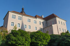 Tourism office. Pfleghof in Schwandorf, the tourist office, in Bavaria, Germeny Stock Photography