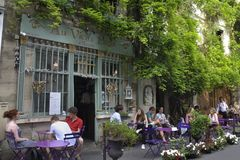Tourism In Paris Royalty Free Stock Photography