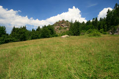Tourism in Pieniny. Royalty Free Stock Photos
