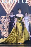 Tourism Queen泰国小姐最后的回合2017年 免版税库存照片