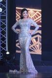 Tourism Queen泰国小姐最后的回合2017年 免版税库存图片